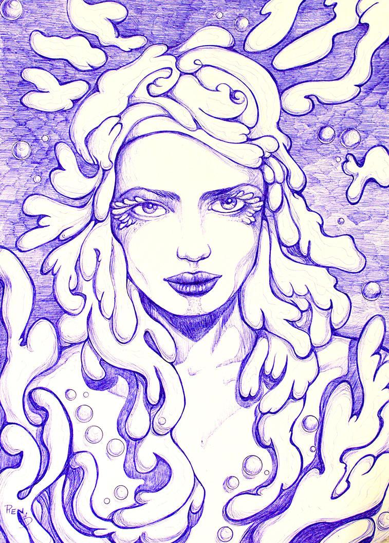 Water elemental by renata-studio