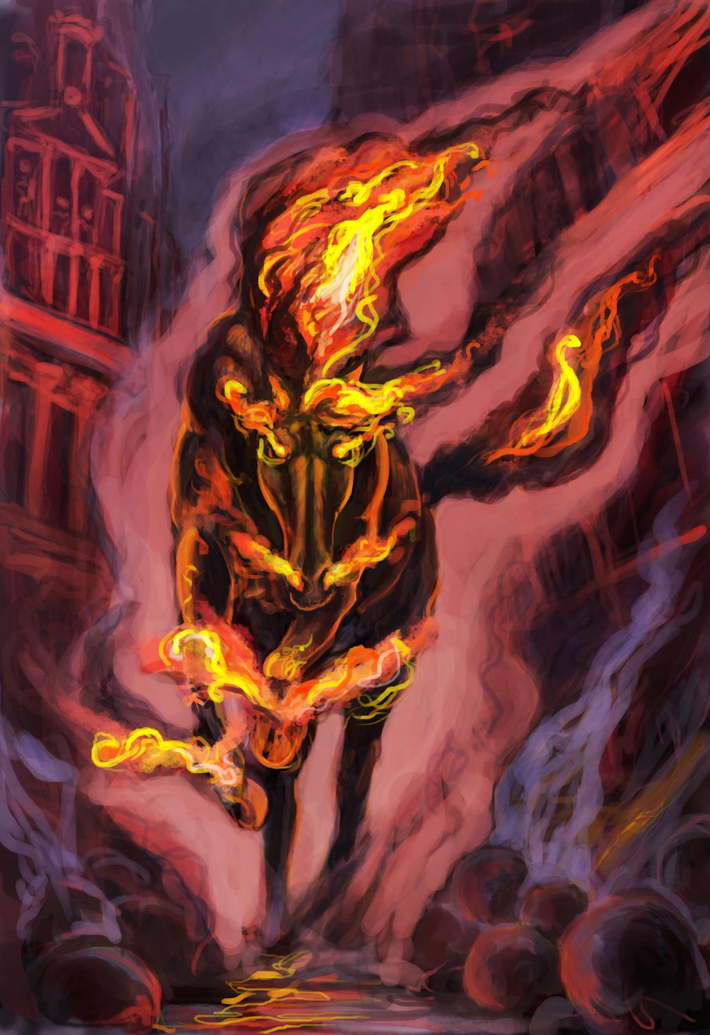 Hell horse by renata-studio