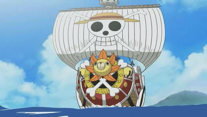 thousand sunny by axone213 on DeviantArt