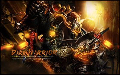 DarkWarrior by kingler22