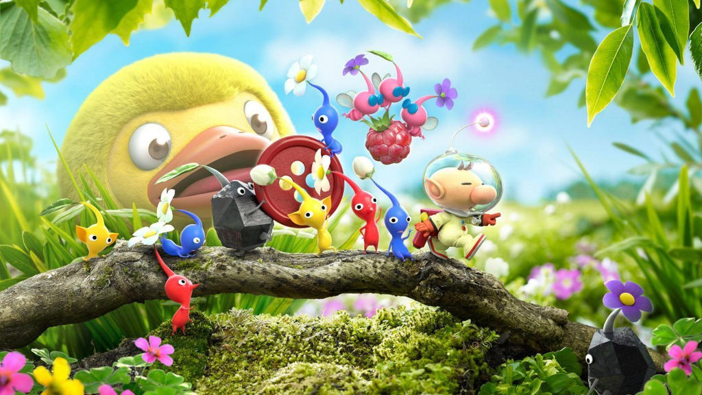 Hey Pikmin Wallpaper By Kaiky999th On Deviantart