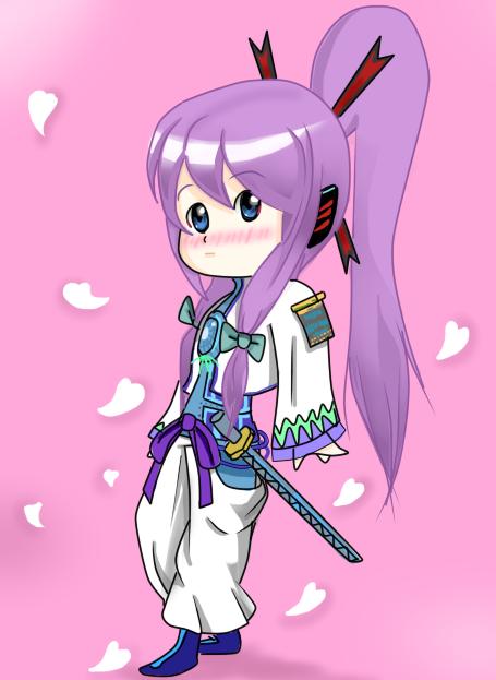 Chibi Kamui Gakupo Vocaloid by GonchiDayo on DeviantArt
