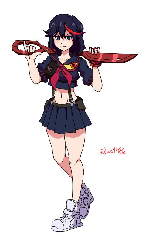 Matoi Ryuko by SpideyHog