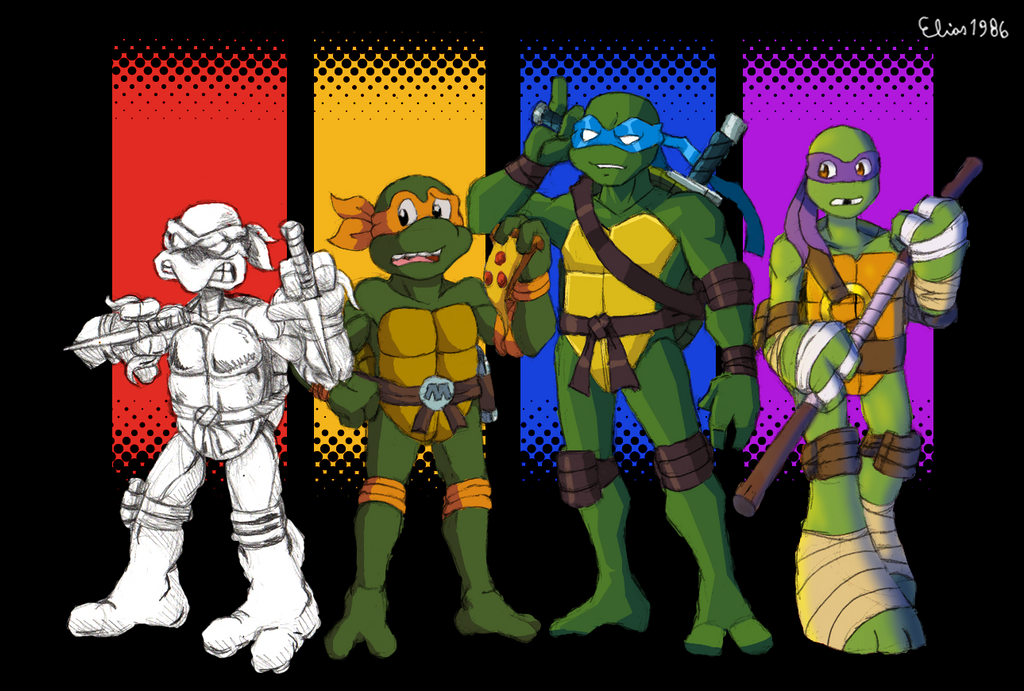 Teenage Mutant Ninja Turtles by SpideyHog on DeviantArt