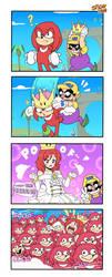 4Koma | Queen Knuckles by SpideyHog