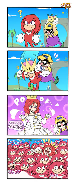 4Koma | Queen Knuckles