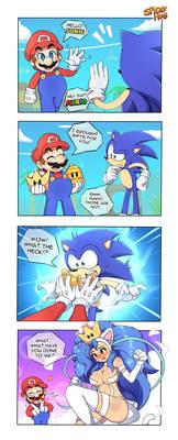 4koma | Mario's Gift