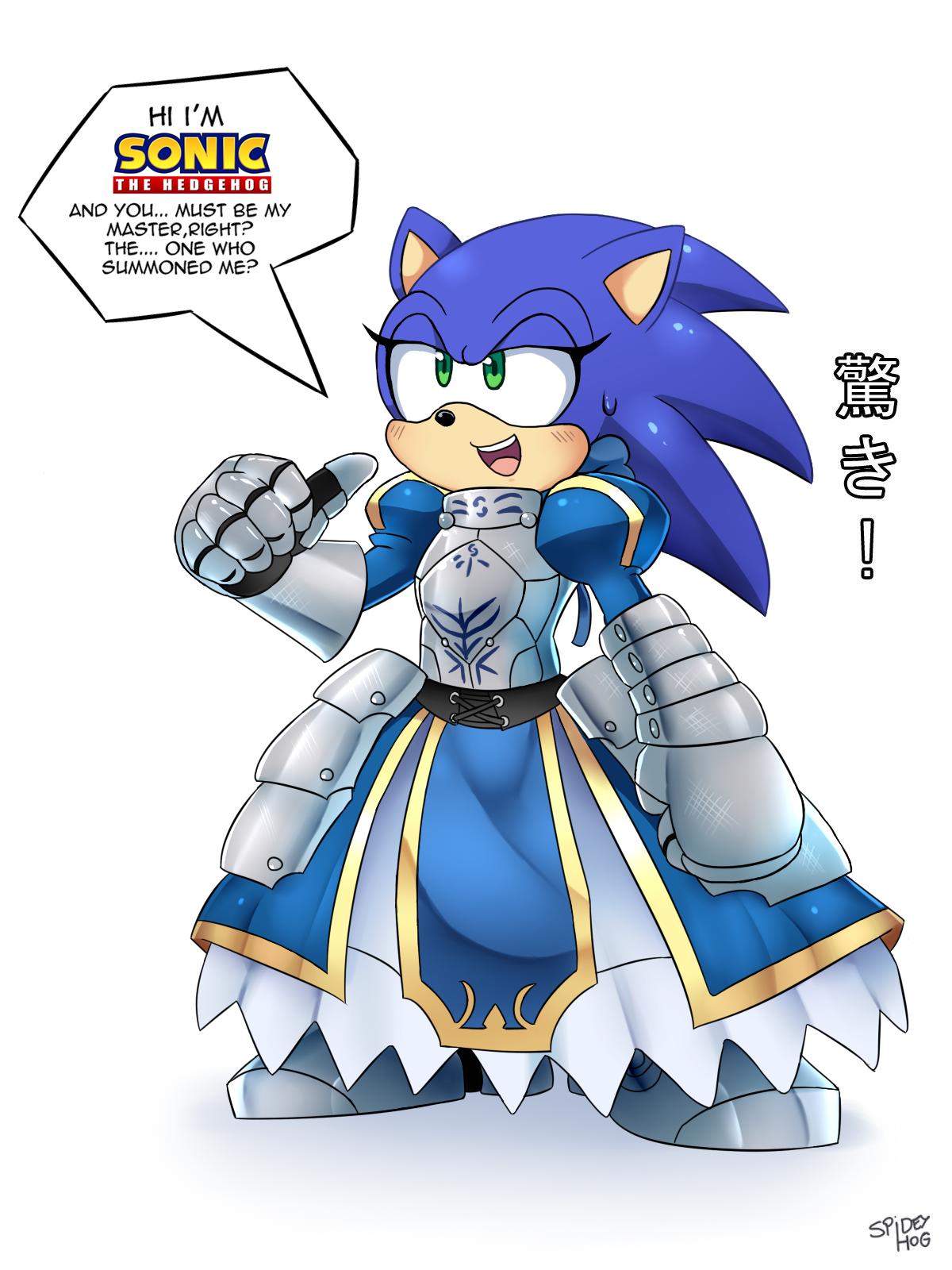 Saber Sonic!