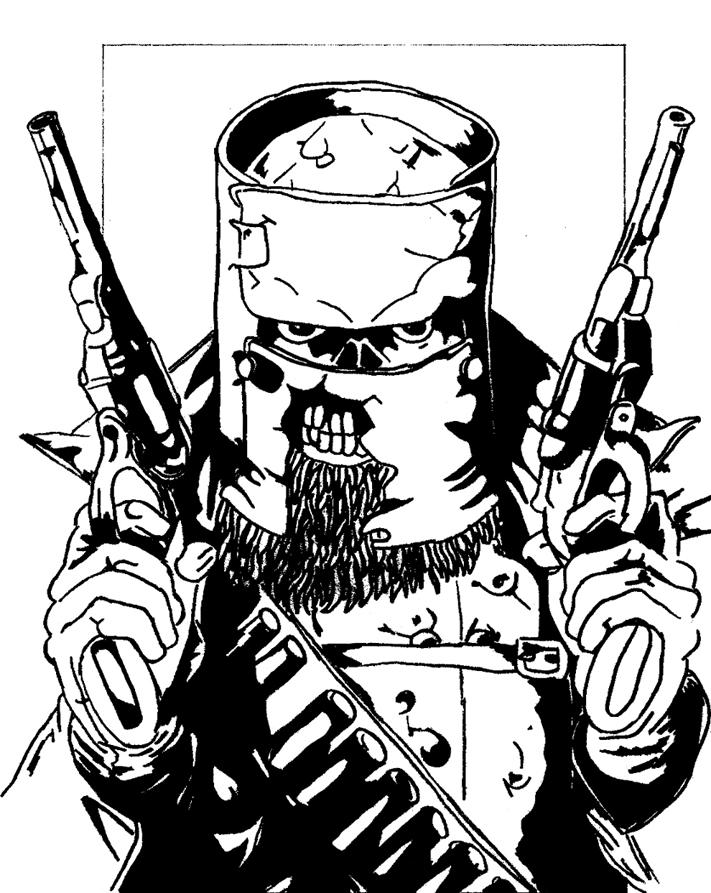 ned kelly coloring pages - photo#19