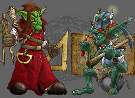 Goblins II by MalDuDepart