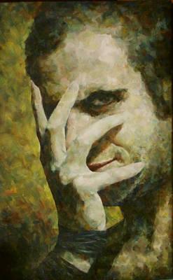 Self Portrait III  55x35 2007 by Manolis Fra