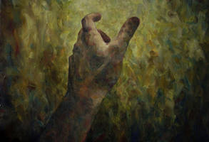 Hand oil on canvas 45x65 2005 by MalDuDepart