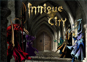 Intrigue City COVER by Manolis Frangidis by MalDuDepart