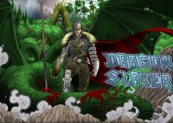 Dragon slayer in collaboration with George Sakkas by MalDuDepart