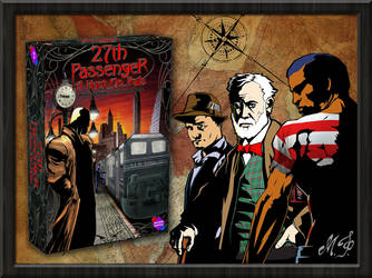 27th Passenger A Hunt on Rails Characters #2