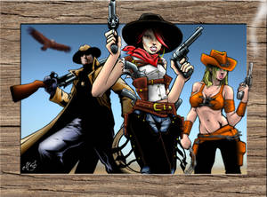 Posse, Wild West Justice Characters #2
