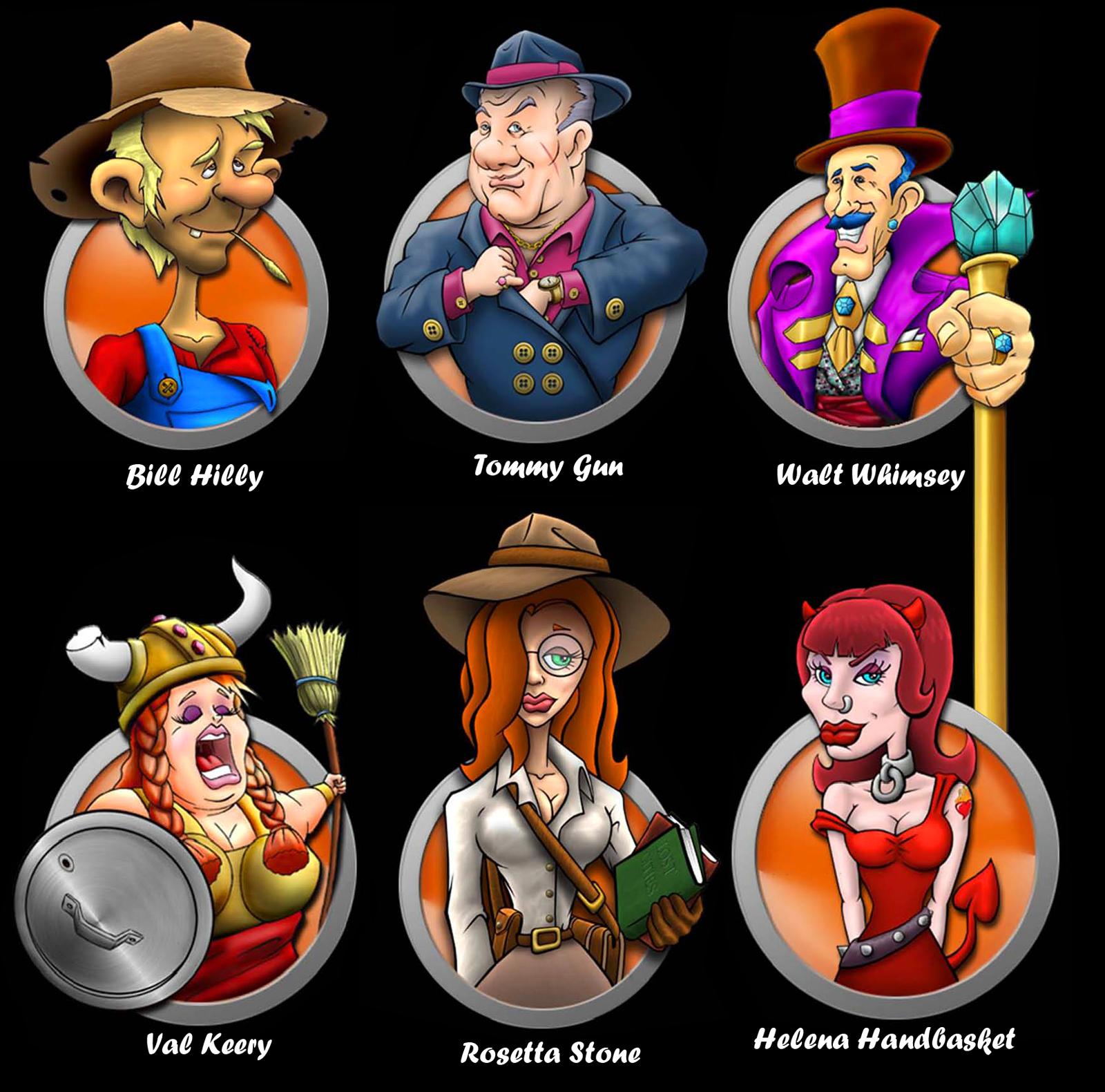 Yard Sale 3 Characters by MalDuDepart