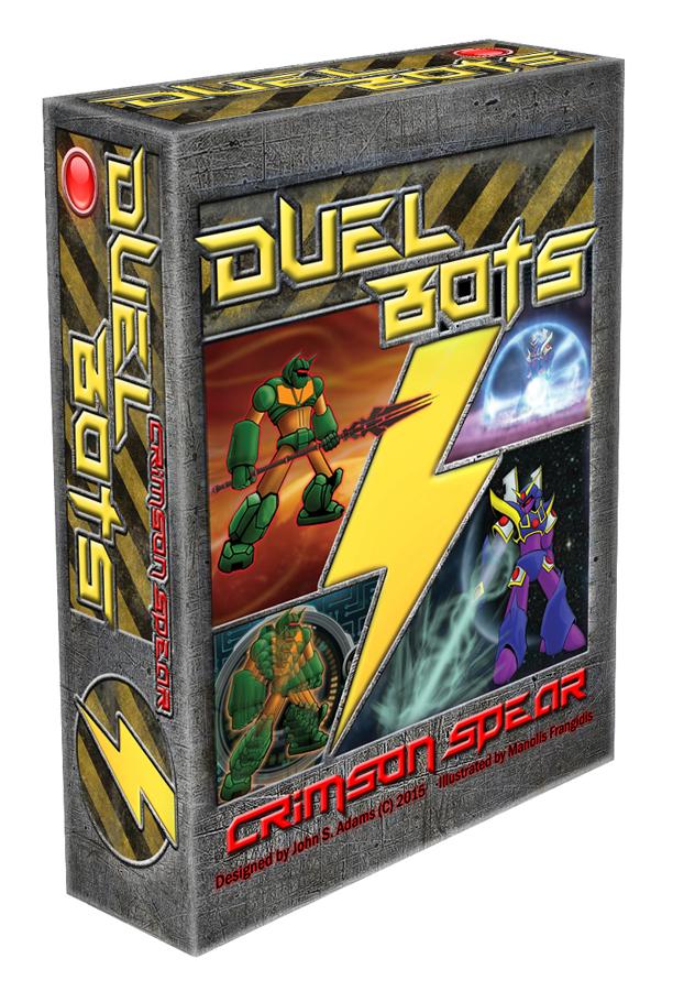 Duel Bots: Crimson Spear 3D cover by MalDuDepart