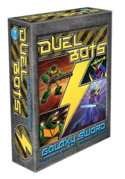 Duel Bots: Galaxy Sword 3D box cover