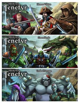 Tenefyr Bad Guys by Manolis Frangidis