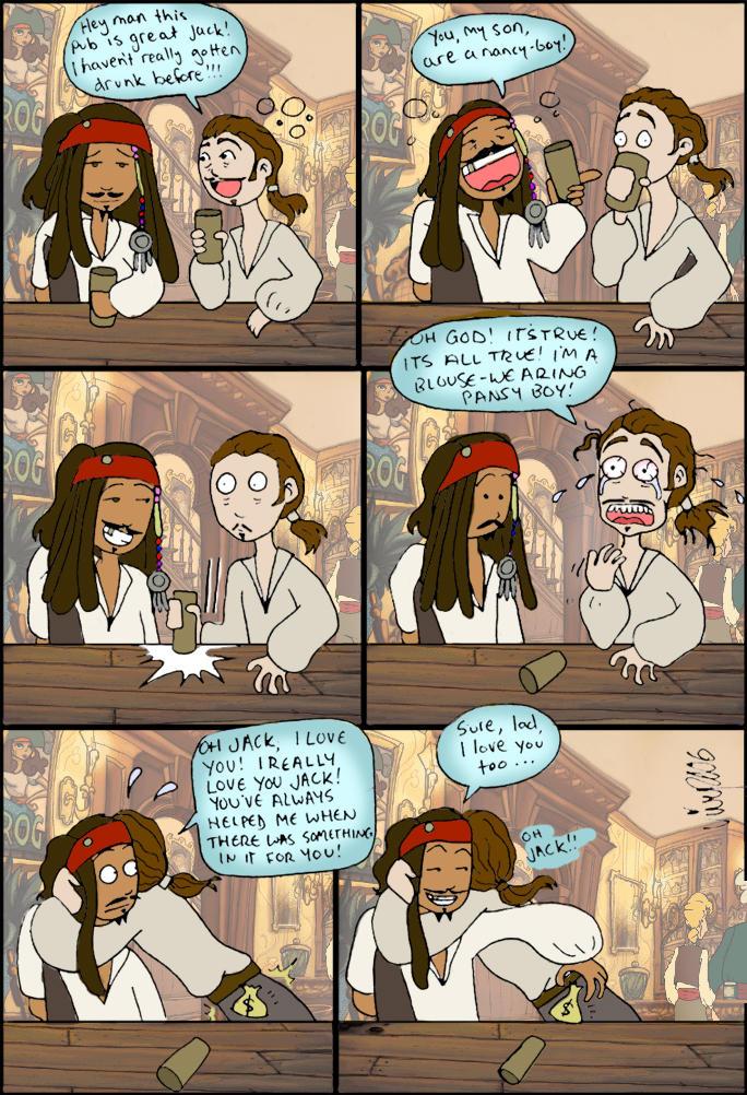 Gay jack sparrow turner will