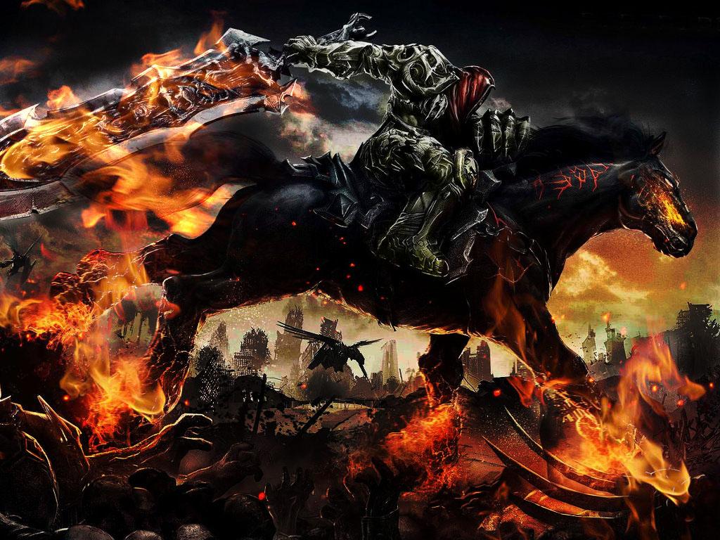 Darksiders War Wallpaper By: Darksiders Wrath Of War By AshDragonHeart On DeviantArt