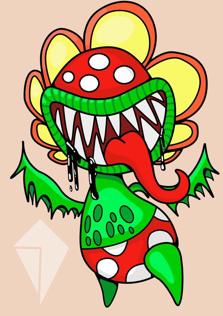 Petey Piranha - Mario Boss by Nexubis