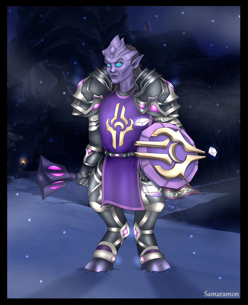 Vindicator Jasadik in Frostfire by Samaramon