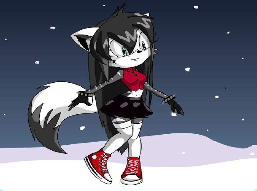 Sonic Charrie Maker Snowflake The WolfFox IMPROVED by TheWolfFox
