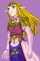 Manga Zelda Color by Enayru