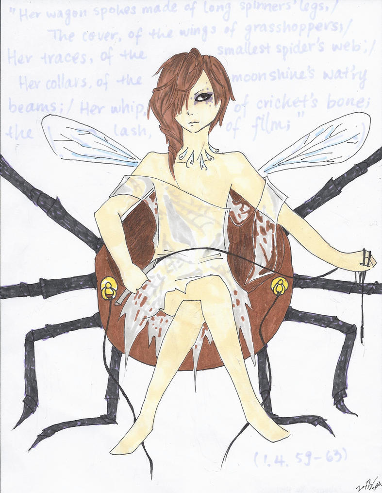 how to draw queen mab