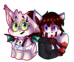 Libby and Susan [AT] by NoraArts123