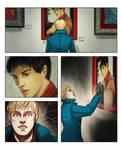Paperlegends 2013 : Kieran/Arthur and Merlin