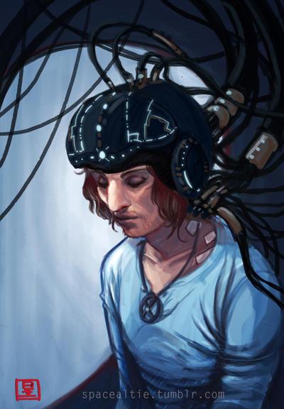 cyber - Charles by aureliebm