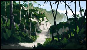 Mata Nui sights - Coastal Woodlands