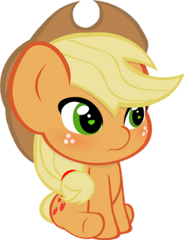 Chibi Applejack Vector
