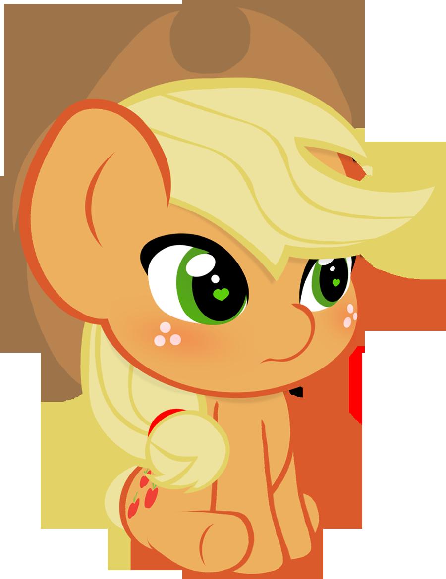 Chibi Applejack Vector by ParagonAJ