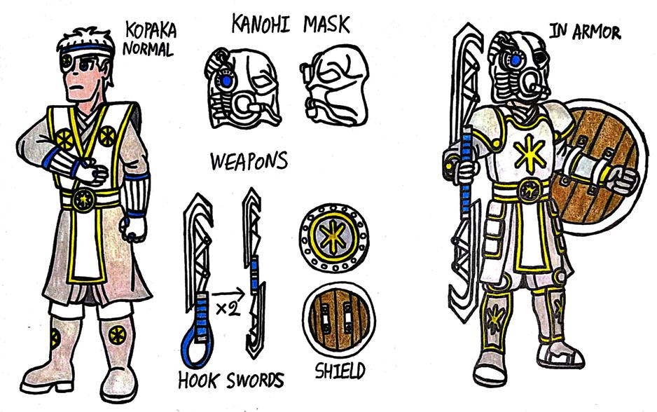 Kopaka Nuva Human Design by StealthNinja5