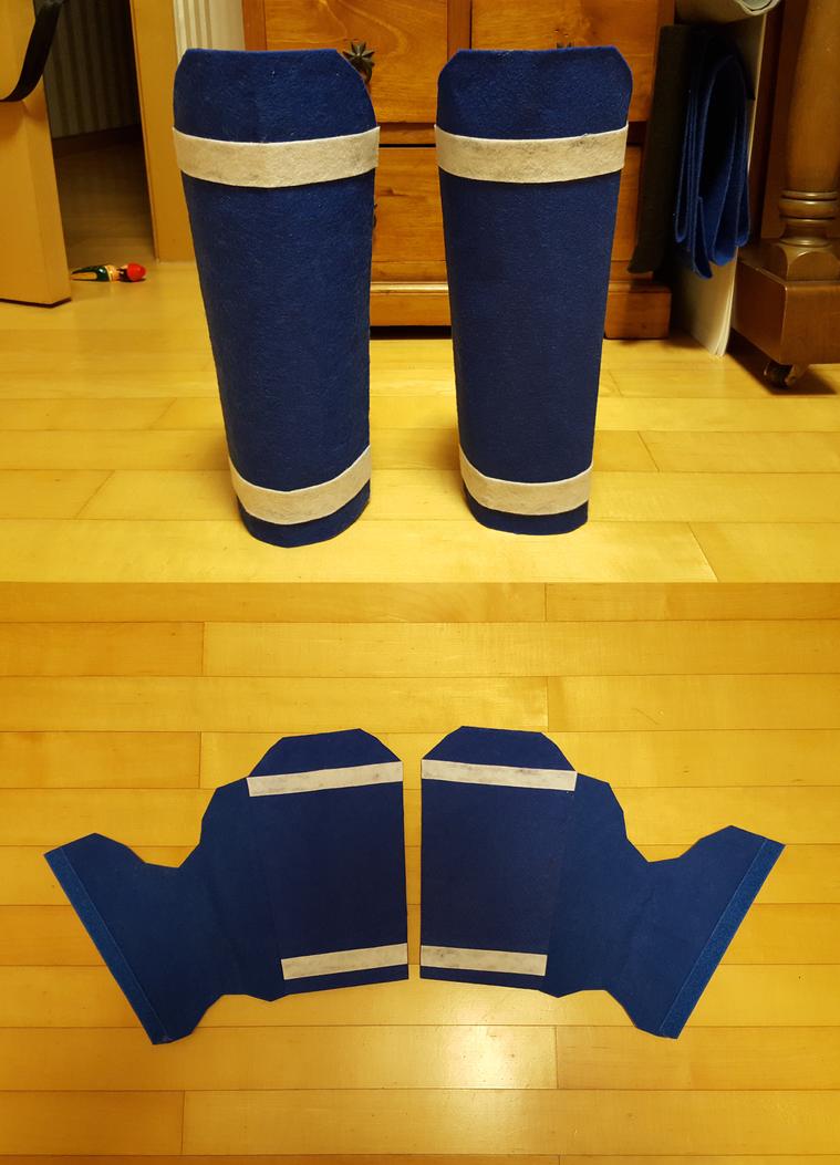 Heracross Leg Armor by StealthNinja5