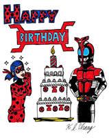 Red Bug Birthday Celebration by StealthNinja5