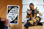 Uno Card Meme (Scorpion) by StealthNinja5
