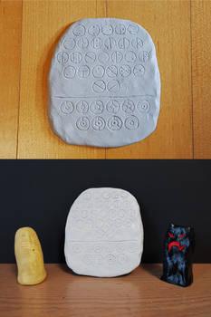 Matoran Stone Tablet