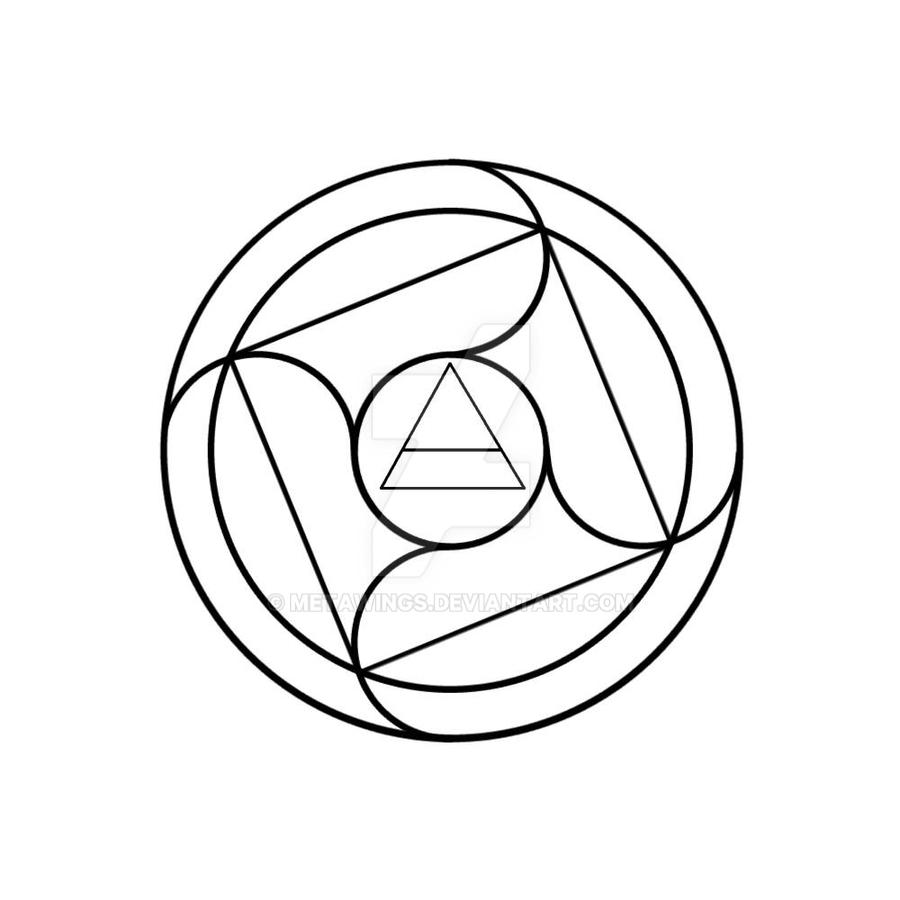 Simple Air Transmutation Circle By MetaWings On DeviantArt