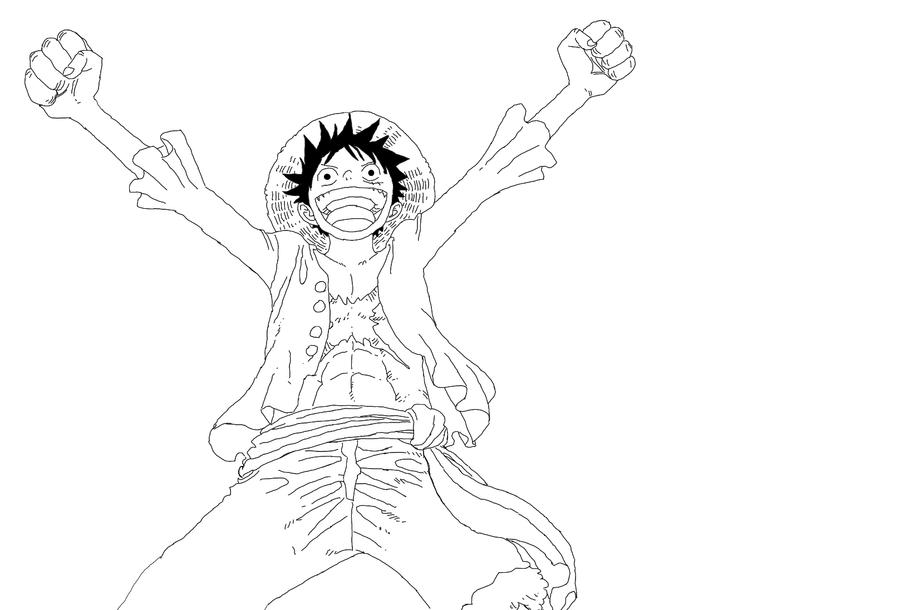 One Piece Lineart : One piece lineart by on deviantart