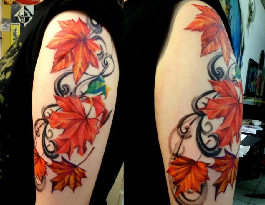 Autumn Leaves Flew By by TatyZ