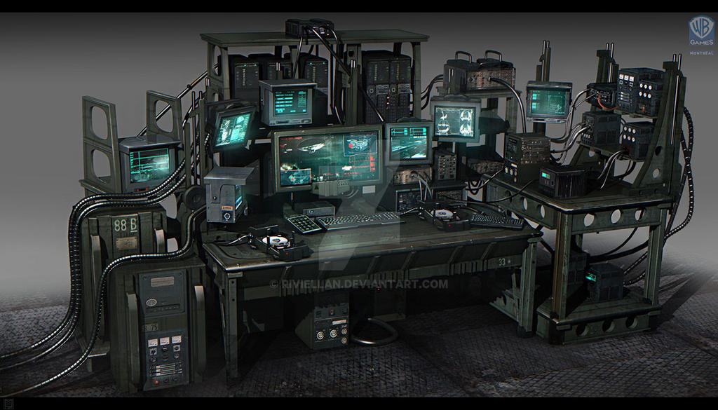 SOME Of The Bat Computer By Riviellan On DeviantArt
