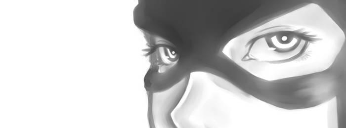 Batgirl's Eyes