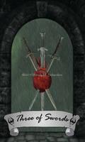 Skyrim Tarot - Three of Swords