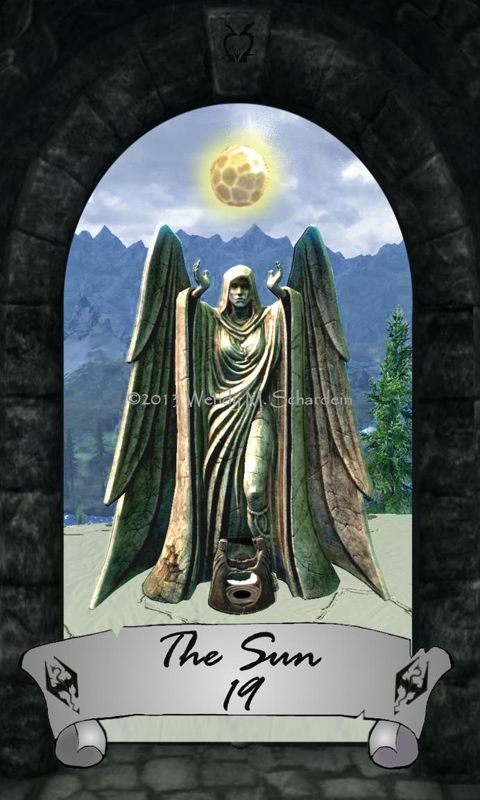 Skyrim Tarot 19 - The Sun by Whisper292