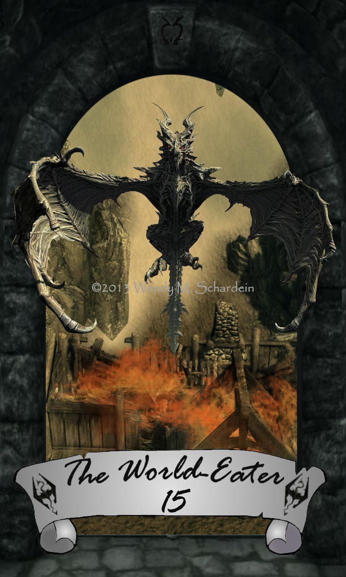 The Skyrim Tarot 15 - The World-Eater (REVISED) by Whisper292